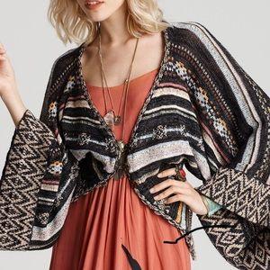 Kimono Style Cardigan by Free People EUC sz M